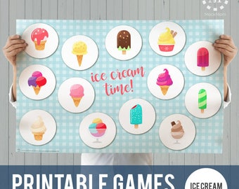 Printable Games: Ice Cream Time