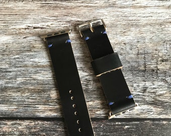 Apple Watch Strap, Apple Watch Band, Leather Apple Watch strap, 38mm strap, 42mm strap.
