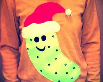 Christmas Pickle Ugly Christmas Sweater