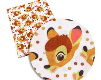 bambi pan  fabric