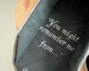 Hidden Message Tie