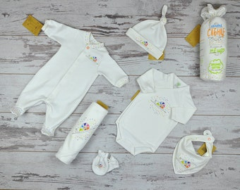 Gender Neutral Baby Clothing, Newborn Hospital Outfit, New Daddy Gift, Take Home Outfit, Newborn Baby Outfit, Baby Fashion Clothing