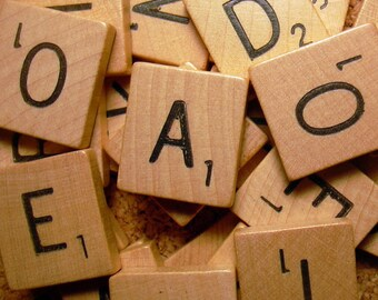 Scrabble Tiles For Crafting - 25/ 50/ 100