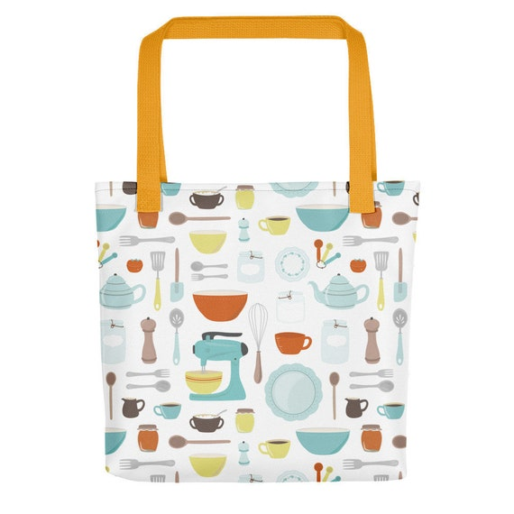 Vintage Kitchen Tote