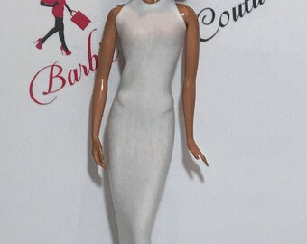Barbie High Neck Full Length Dress Many Colors Available