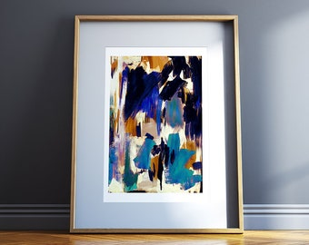 Abstract A3 Giclee Print