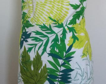 60s brocade mini dress. About a size 16!!!. Very good condition.