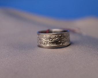 Flower Pattern Ring