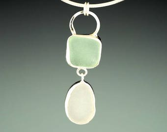 Necklace, Gift for Mom, Sea Glass Jewelry, Necklaces, Mothers Day, Choker, Beach Jewelry for Women, Gift for wife, Statement Necklace