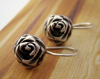 A Rose Is Still A Rose Earrings