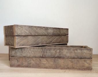 wood planters, rustic organizers, fairy garden box, centerpiece, reclaimed wood, shadow box, studio storage, desk organizer