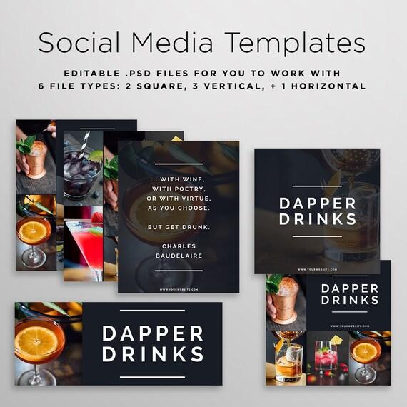 Social media graphic templates template graphics maxwellsz