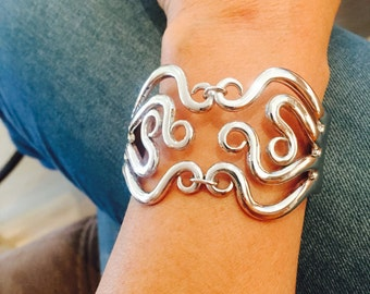 Exquisite Octopus Fork Bracelet