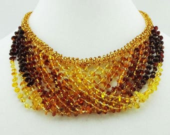 Tarasova Designer Baltic Amber Necklace