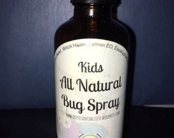 "All Natural ""Deet Free"" Bug Spray ""Kid Safe"""