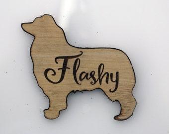 Australian Shepherd Magnet - Personalized Dog Magnet - Dog Remembrance Gift - Gift for Dog Lover - Loss of Dog Gift - Dog Memorial Gift