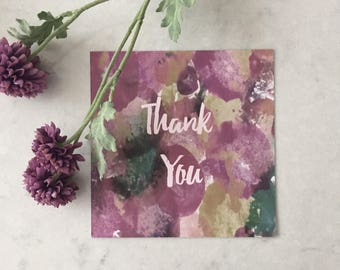 Dotty Thank You Card