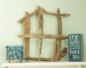 Decorative Driftwood Window