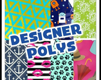 Designer Poly Mailers - 10 x 13 Envelopes - Shipping Envelopes - Adhesive Mailer - Water Resistant - Heavy Duty Mailers - Flat Envelope