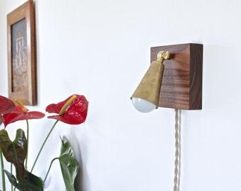 wall lamp, brass sconce, modern light fixture