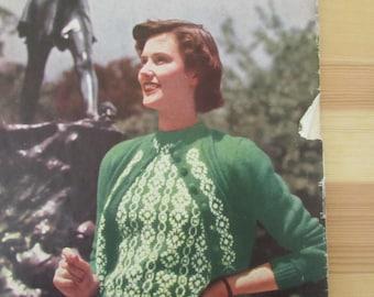 Vintage (1940s) craft patterns, Stitchcraft No 190