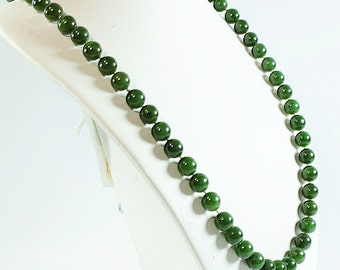 Leaf green necklace nephrite jade jade green jewelry good nephrite jade necklace wedding necklace jade brides necklace green jade jewelry handmade aloadofball Image collections