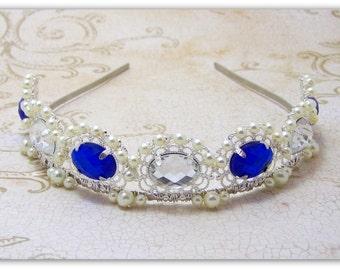 Medieval Crown - Renaissance Crown, Medieval Jewelry, Renaissance Jewelry, Tudor Crown, Elizabethan