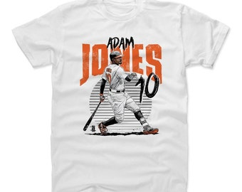 Adam Jones Shirt | Baltimore Baseball | Men's Cotton T Shirt | Adam Jones Rise O