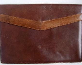 Vintage Ladies Tilley cuir et portefeuille de peau de serpent, sac bandoulière, sac à main, porte-documents, sac pour ordinateur portable,