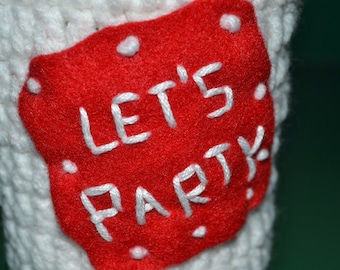 Let's Party Beer/Soda Cozy