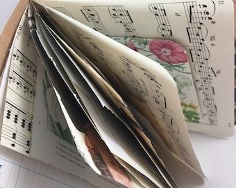 Junk Journal, Smash Book, Art Journal, Travel Journal, Scrapbook, Journal,  Glue Book, JJ104