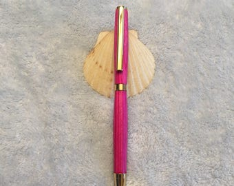 Handcrafted Pink Pen P-3