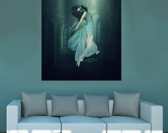 Beneath the Surface canvas wall decor