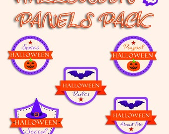 Halloween Twitch Panels