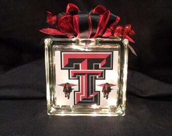 Texas Tech Block Light