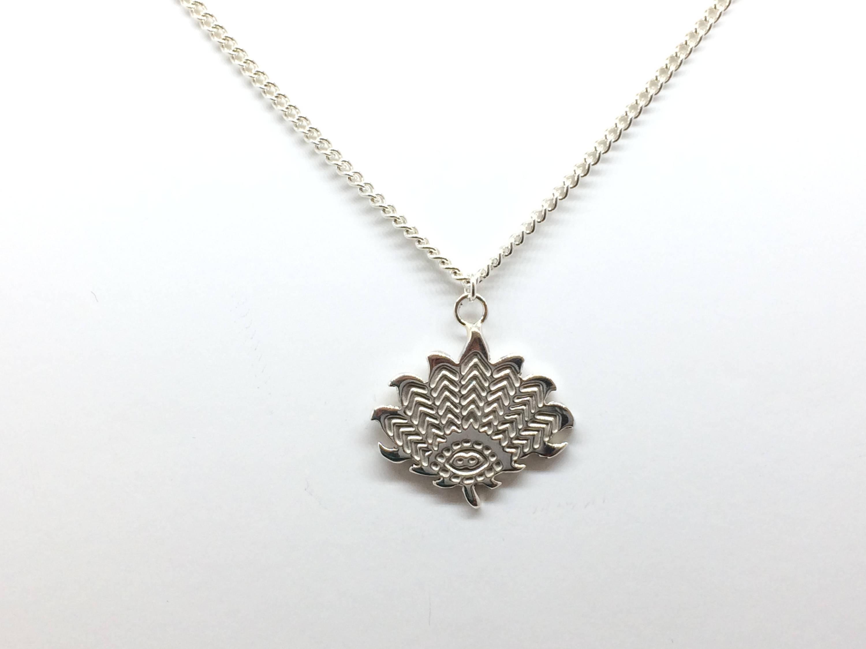 Lotus flower pendant zoom izmirmasajfo
