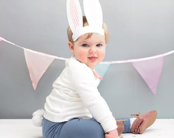 Bunny Fancy Dress Up For Children Bunny Ears Bunny Tail And Bow Tie