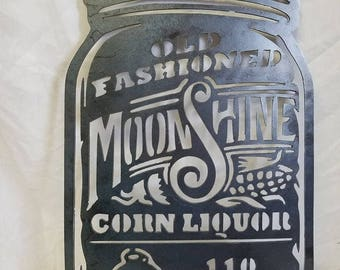 "LOOK! ""Moonshine""  Metal Artwork"