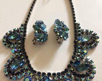 DELIZZA & ELSTER Wow! Fabulous Juliana Necklace and Earrings Demi Parure