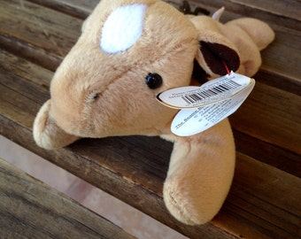 Derby The Horse TY Beanie Baby, 1995 TY Retired Beanie Baby, Collectible Horse Beanie Baby