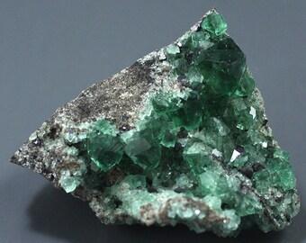 Fluorite, Rogerley Mine, England, Fluorescent - Mineral Specimen for Sale