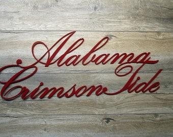 Alabama Crimson Tide Wall Art