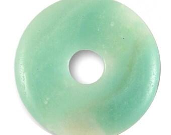 Pendant - 30mm AMAZONITE Donut