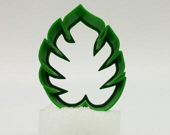 3D Print Palm Leaf Cookie Cutter, 3″/4″/5″ Size, 1″ Deep  CC89