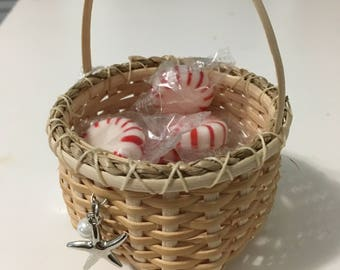 Tiny Basket with Starfish Charm