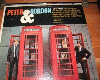 Peter And Gordon 33 1/3 Vinyl Record/Peter And Gordon Vintage Vinyl Album/Capitol Records Label/1970's Pop Music
