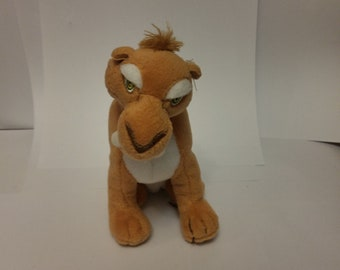 Plush Saber Tooth Tiger From Ice Age