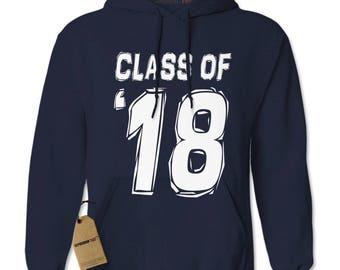 Class of 2018 Adult Hoodie Sweatshirt