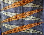 African wax print fabric ...