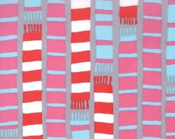 Aneela Hoey for Moda, Sherbet Pips, Scarf Stripe in Scooter Grey 18504.16 - 1 Yard (Last One)